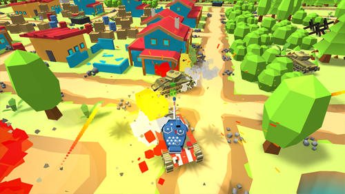World of cartoon tanks für Android