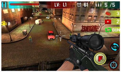 Sniper shoot war für Android