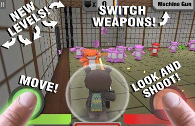 Actionspiele: Lade Kampfbären - 1 auf dein Handy herunter