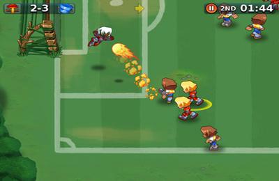 Arcade-Spiele: Lade Spassiges Fussballspiel auf dein Handy herunter
