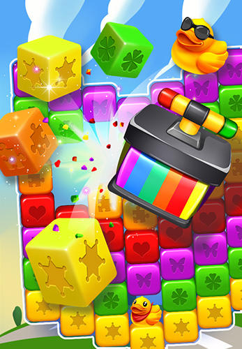 Cube blast rescue toy block für Android