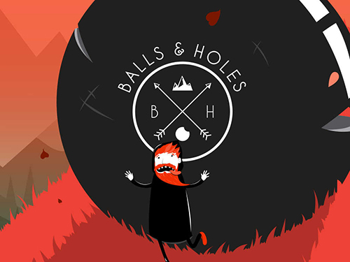 Screenshot Balls and holes on iPhone