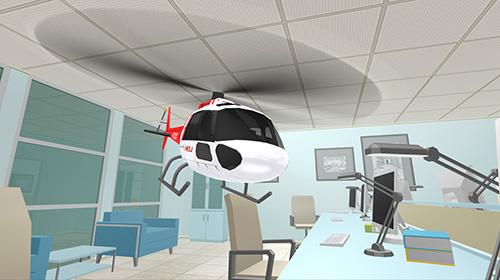Simulation Helicopter RC flying simulator für das Smartphone