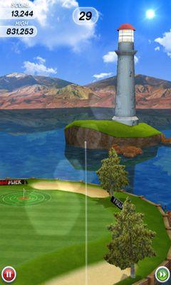 Flick Golf captura de pantalla 1