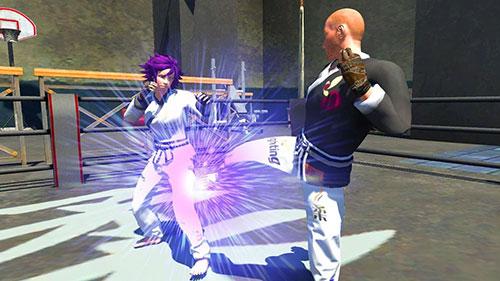 Kampfspiele Karate fighting tiger 3D 2 für das Smartphone
