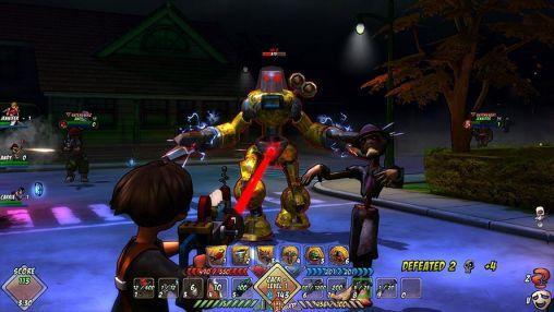 RPG-Spiele Monster madness online für das Smartphone