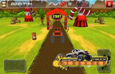 Racing games: download Monster Truck Disaster на iPhone