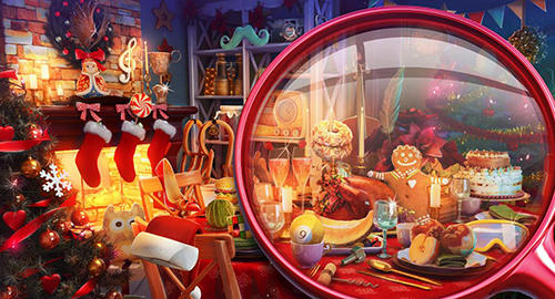 Hidden objects: Christmas trees для Android