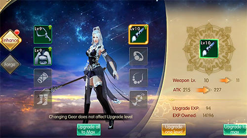 Legend of wuxia: 3D MMORPG Screenshot