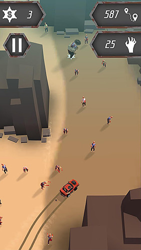 Evil car: Zombie apocalypse screenshot 3