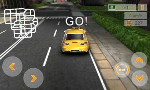 Modern taxi driving 3D screenshot 4