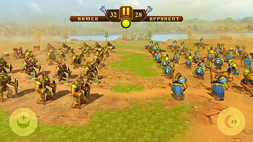 Strategie Orcs epic battle simulator für das Smartphone