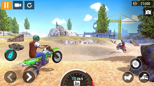 City motorbike racing скріншот 1