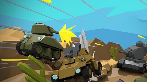 Iron blaster: Online tank para Android