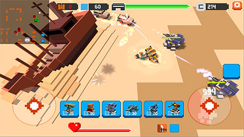 War boxes: Tower defense für Android