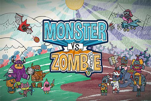Monster vs zombie screenshot 1