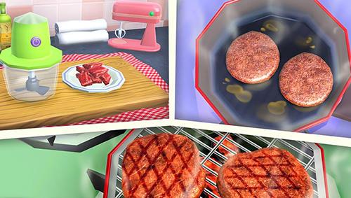 Burger maker 3D Screenshot