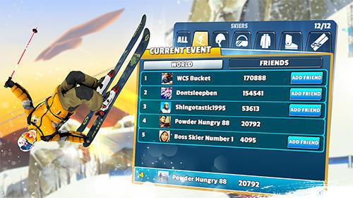 Sportspiele Red Bull free skiing für das Smartphone
