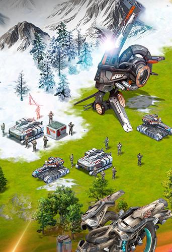 Online-Strategiespiele Battle zone: Alien expanse auf Deutsch