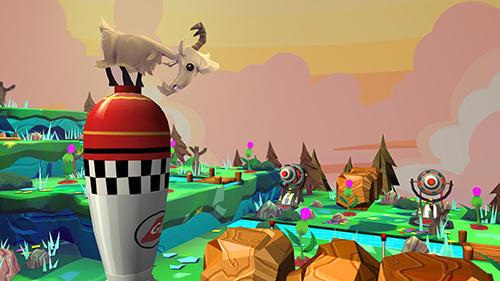 Capturas de tela de Danger goat