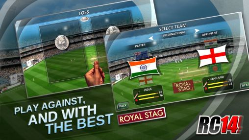 Real cricket '14 для Android