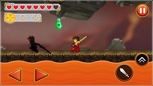 Ninja toy warrior: Legendary ninja fight screenshot 1
