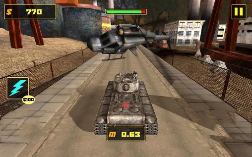 Tank fighter league 3D Screenshot