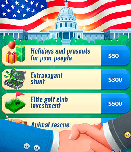Arcade-Spiele Donald's empire für das Smartphone
