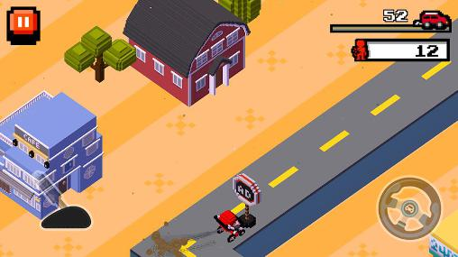 Crush road: Road fighter für Android