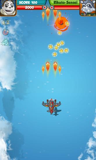 Arcade Panda commander: Air combat für das Smartphone
