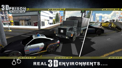 3D prison transporter for Android