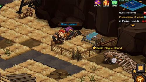RPG Raid survivor für das Smartphone