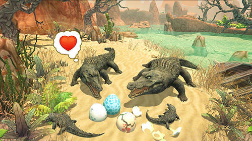Crocodile family sim: Online for Android