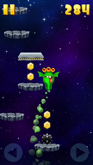 Monster jump: Galaxy auf Deutsch