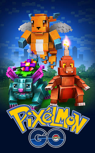 Pixelmon go! Catch them all! Screenshot