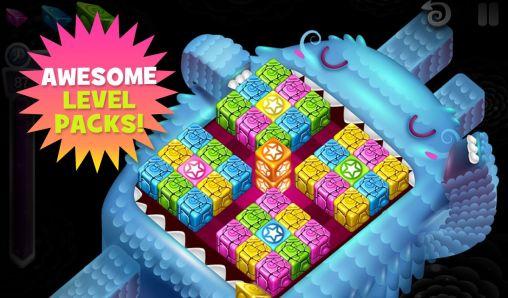 Logik Cubis creatures für das Smartphone