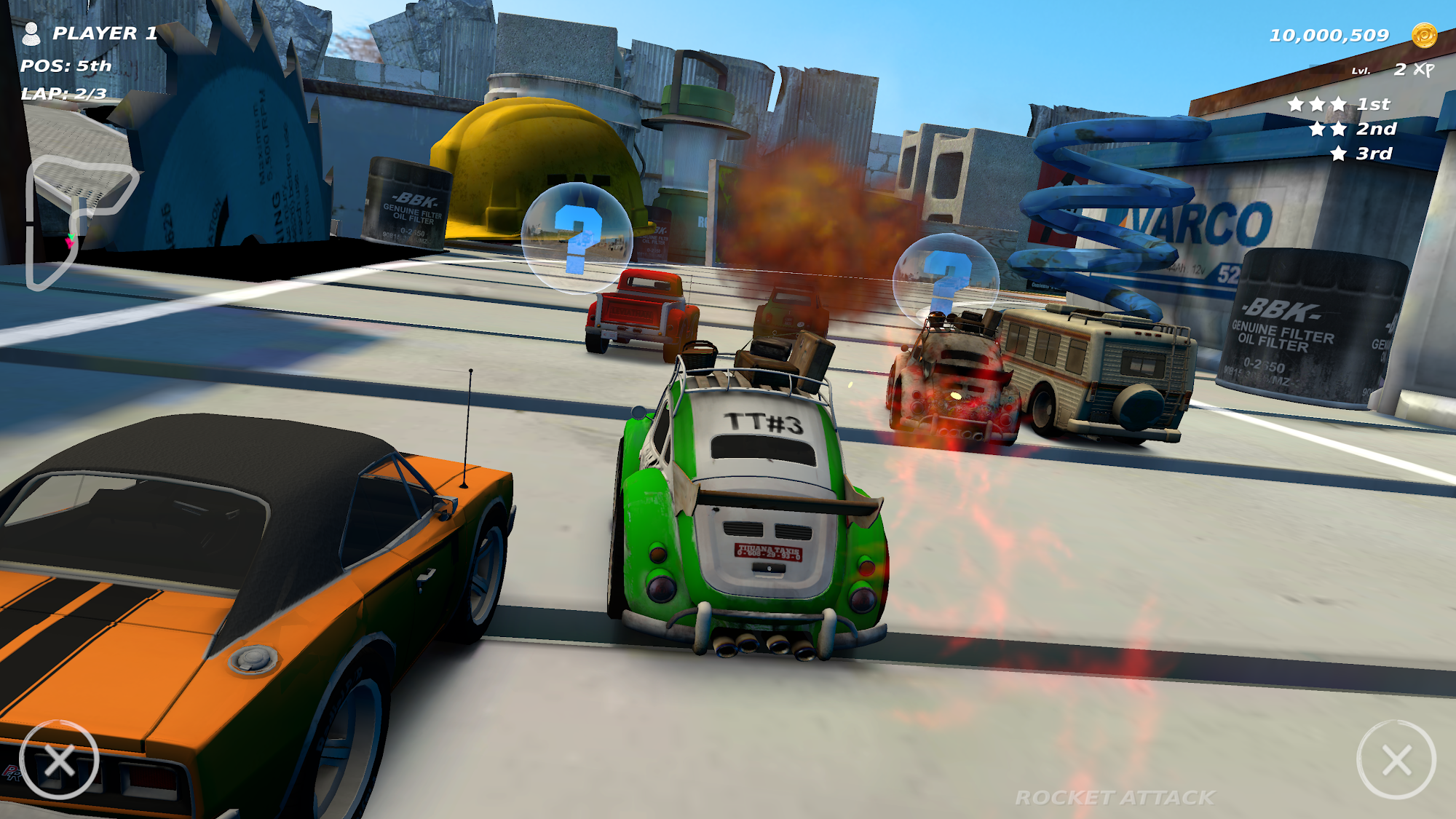 Table Top Racing: World Tour - Nitro Edition para Android