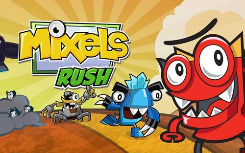 logo Mixels Rush