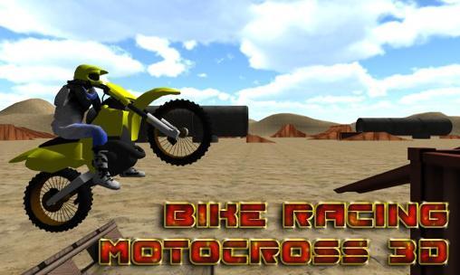 Bike racing: Motocross 3D Screenshot