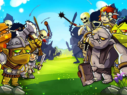 Mighty heroes battle: Strategy card game screenshot 2