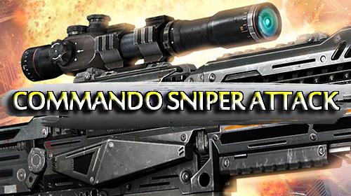 Commando sniper attack: Modern gun shooting war screenshot 1