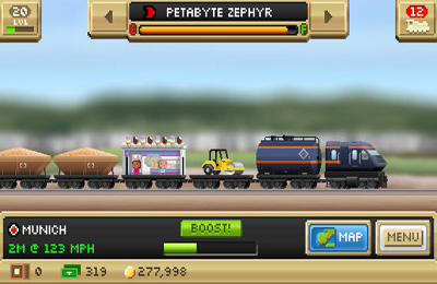 Pocket Trains for iPhone