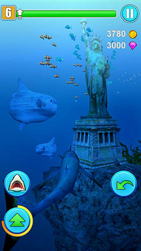 Shark simulator screenshot 2