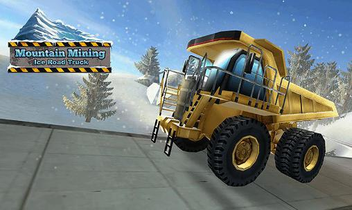 Mountain mining: Ice road truck screenshot 1