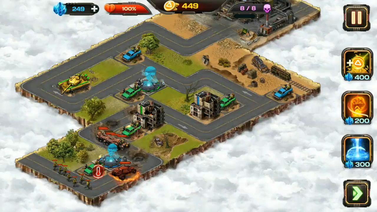 AOD: Art of Defense — Tower Defense Game capture d'écran 1