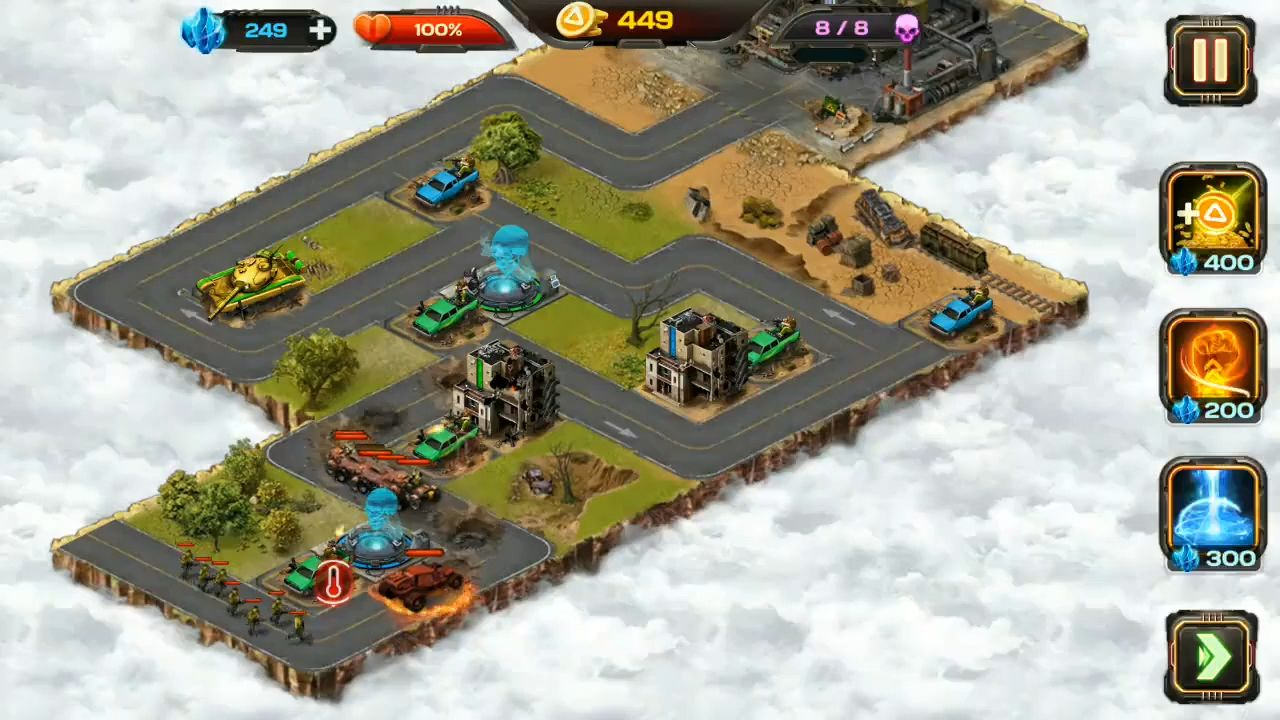 AOD: Art of Defense — Tower Defense Game スクリーンショット1