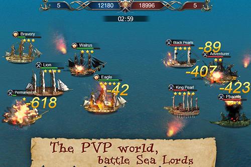 Onlinespiele Age of voyage für das Smartphone