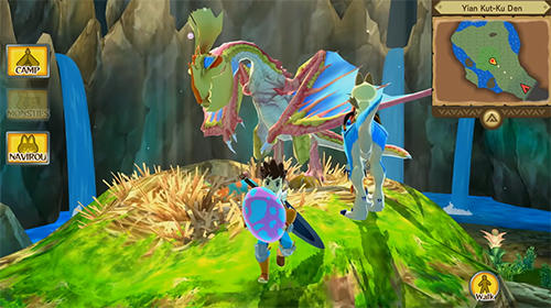 РПГ: скачать Monster hunter stories: The adventure begins на телефон
