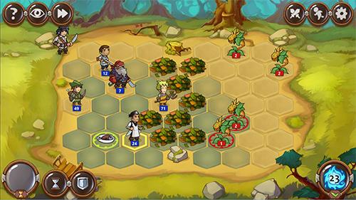 Strategische RPG-Spiele Braveland heroes auf Deutsch