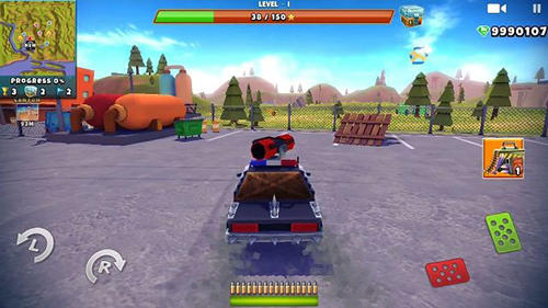Zombie offroad safari for Android